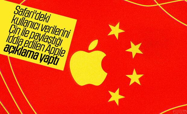 Apple, kullanıcıların Safari verilerini Çin'e gönderiyor iddiası