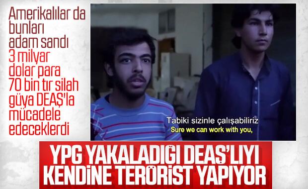 YPG'lilerin kendine kattıkları DEAŞ'lı teröristler