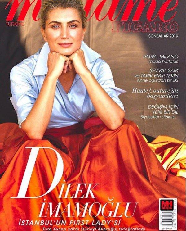 Dilek İmamoğlu, kadın dergisine kapak oldu
