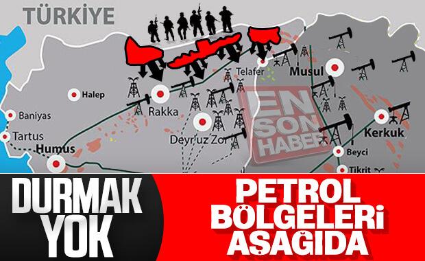 Türk ordusunun Suriye'deki ilerleyişi sürüyor