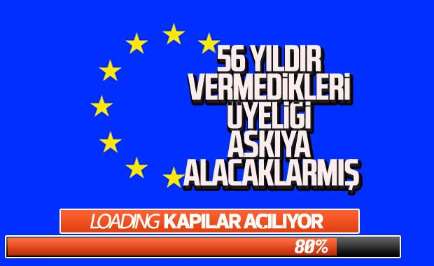 AB'den Türkiye'ye Avrupa tehdidi