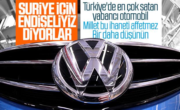 Volkswagen Barış Pınarı Harekatı'ndan dolayı endişeli