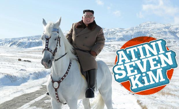 Kim Jong-Un kutsal dağda at üzerinde poz verdi