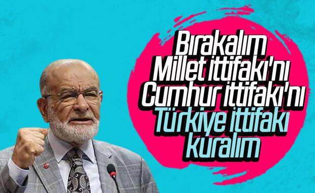 Temel Karamollaoğlu'ndan partilere birleşelim teklifi