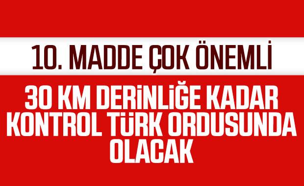Güvenli bölgenin hakimiyeti Türkiye'de olacak