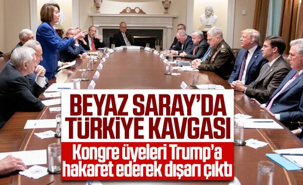 Beyaz Saray'daki Türkiye toplantısında kavga