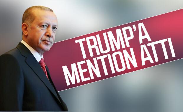 Cumhurbaşkanı Erdoğan'dan Trump'a tweet'li yanıt