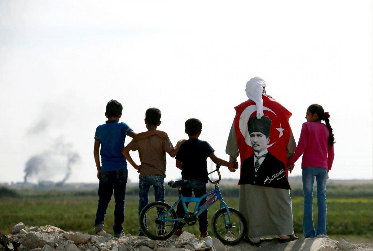 Bölge halkının Barış Pınarı Harekatı'na desteği tam