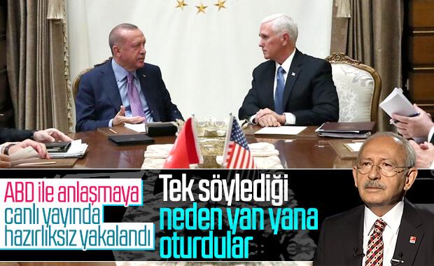 Kemal Kılıçdaroğlu'ndan Mike Pence sorusu