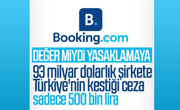 Booking, 500 bin TL öderse tekrar faaliyete geçecek