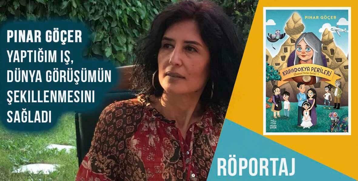 Pınar Göçer ile fantastik romanı Kapadokya Perileri üzerine konuştuk