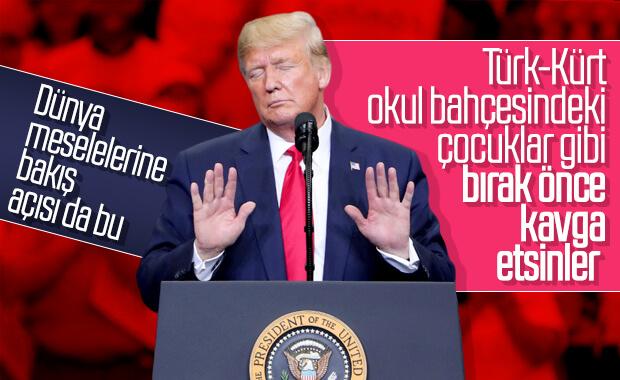 Trump'tan anlaşma üzerine küstah açıklama