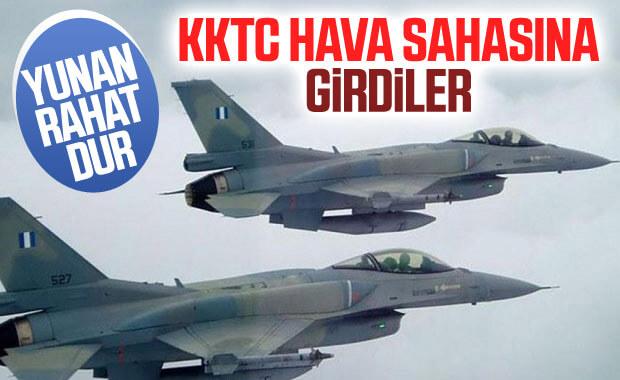 Yunanistan savaş uçakları, KKTC hava sahasını ihlal etti