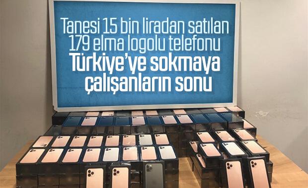 Havalimanında 179 adet iPhone ele geçirildi