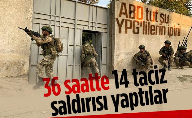 YPG saldırmaya devam ediyor