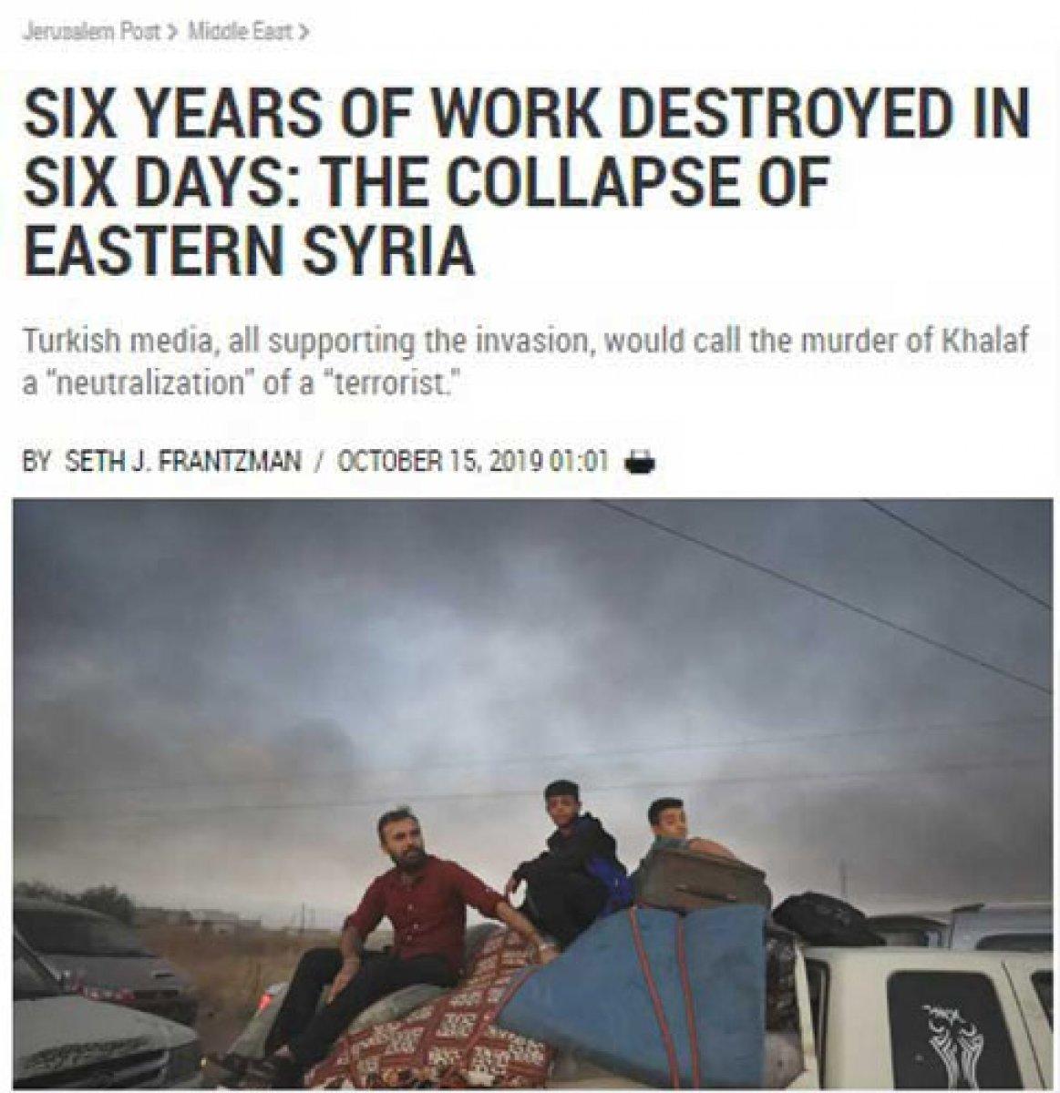 İsrail medyası boşa çıkan Kürdistan hayallerine ağlıyor