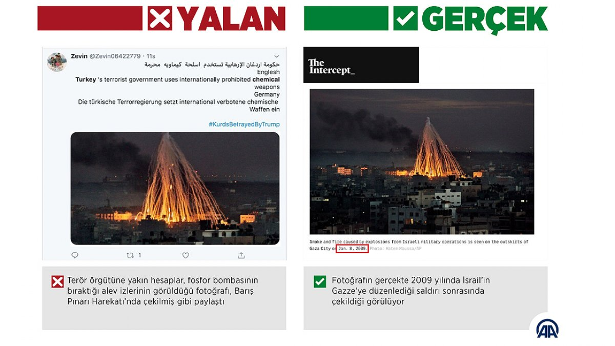 PKK/YPG'lilerin yalanları
