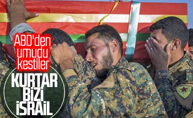 YPG İsrail'e gitti: ABD'ye baskı yapın