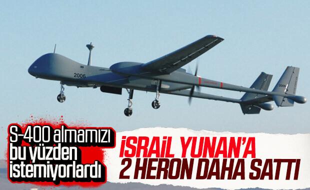 Yunanistan, İsrail'den yine HERON aldı