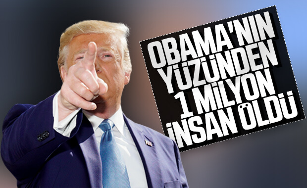 Trump Suriye faturasını Obama'ya kesti