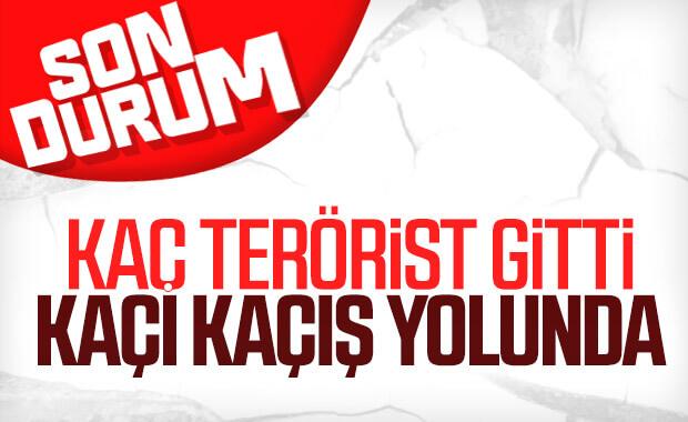 Cumhurbaşkanı Erdoğan: Çekilme devam ediyor