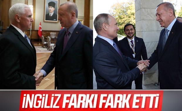 Erdoğan ile Putin'in samimiyeti dikkatlerden kaçmadı