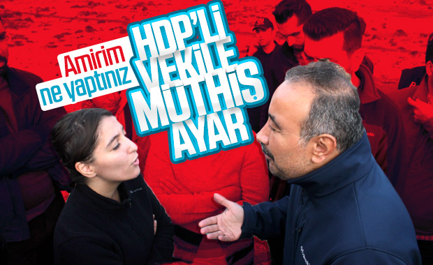 HDP'li vekillere ayar veren amir