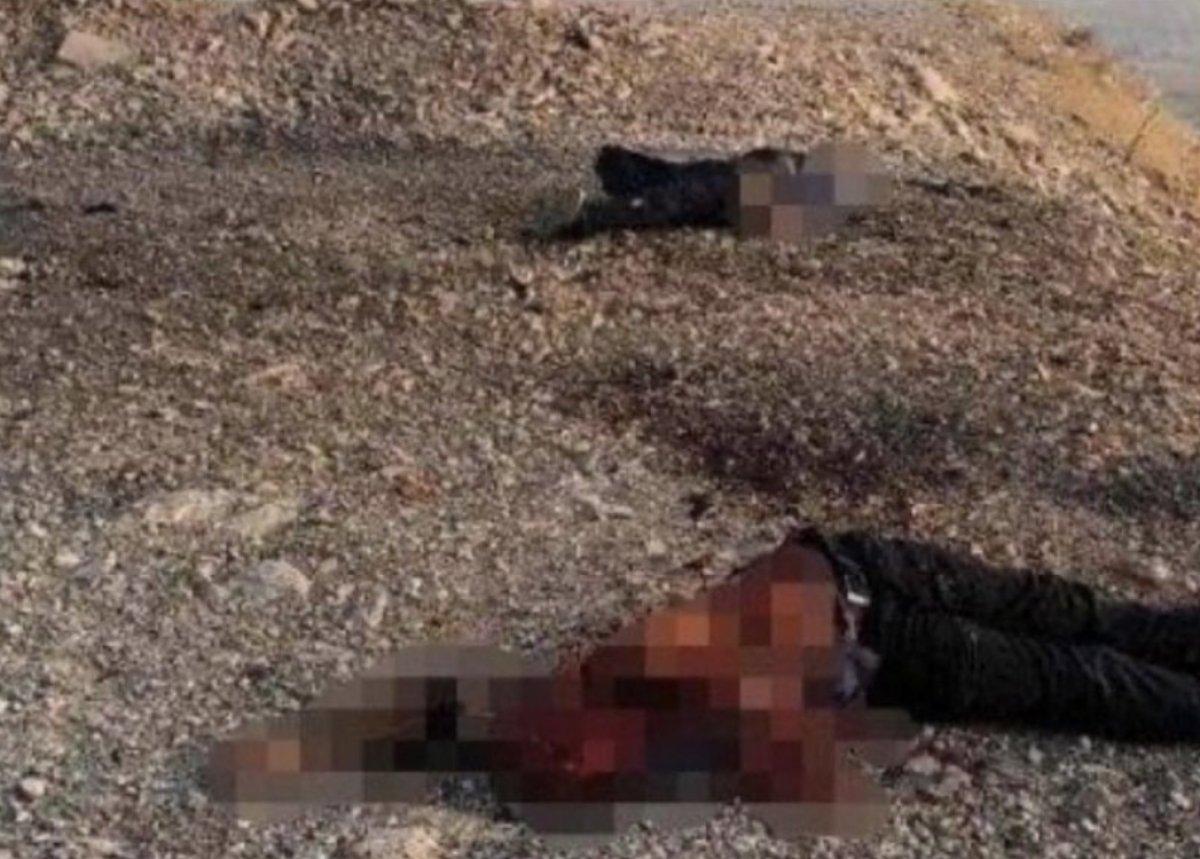 YPG'li teröristler Demhat Egit ve Cemil Amed öldürüldü