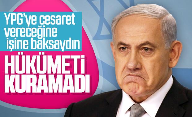 Netanyahu: Hükümeti kuramadım