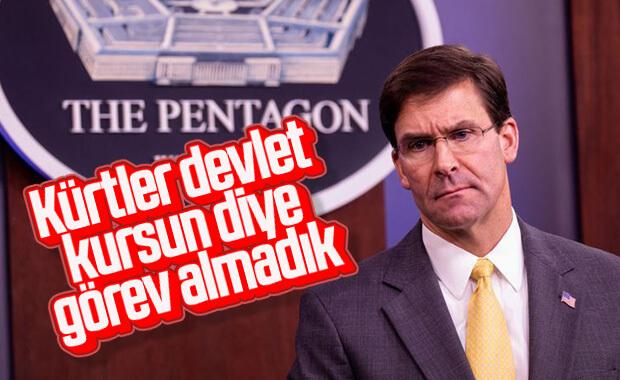 ABD Savunma Bakanı: Kürtler devlet kursun diye görevlendirilmedik
