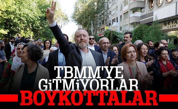 HDP Meclis'te değil protestoda