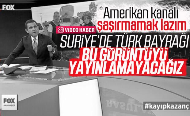 Fatih Portakal, Türk bayrağı asma görüntüsünü yayınlamadı