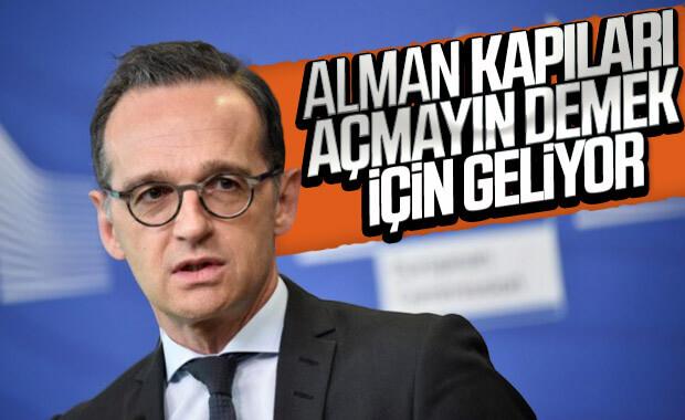 Alman Bakan Suriyeli mülteciler için Türkiye'ye gelecek