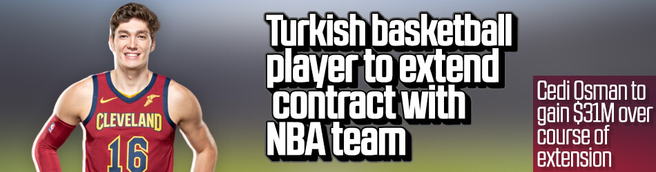 Turkish basketball player to extend contract with NBA team