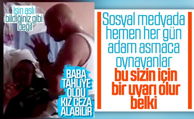 İstanbul'da kızına şiddet uygulayan baba tahliye edildi