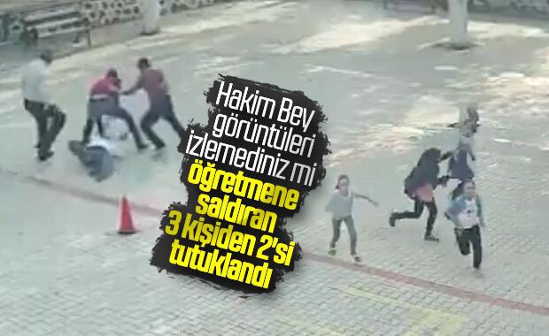 Diyarbakır'da öğretmeni döven baba ve oğlu tutuklandı