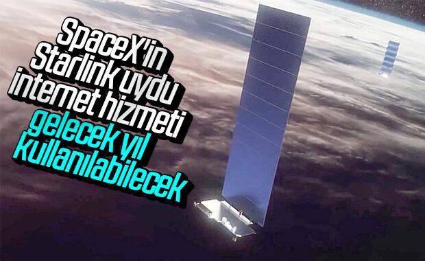 Spacex, Starlink Uydu İnternet Hizmetine 2020'de Başla...