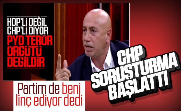 PYD terör örgütü değil diyen Aksünger'e CHP'den soruşturma