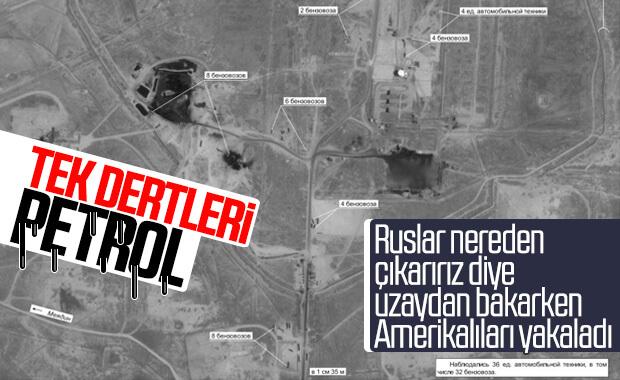 Rusya, Amerika'nın petrol çalışmalarını görüntüledi