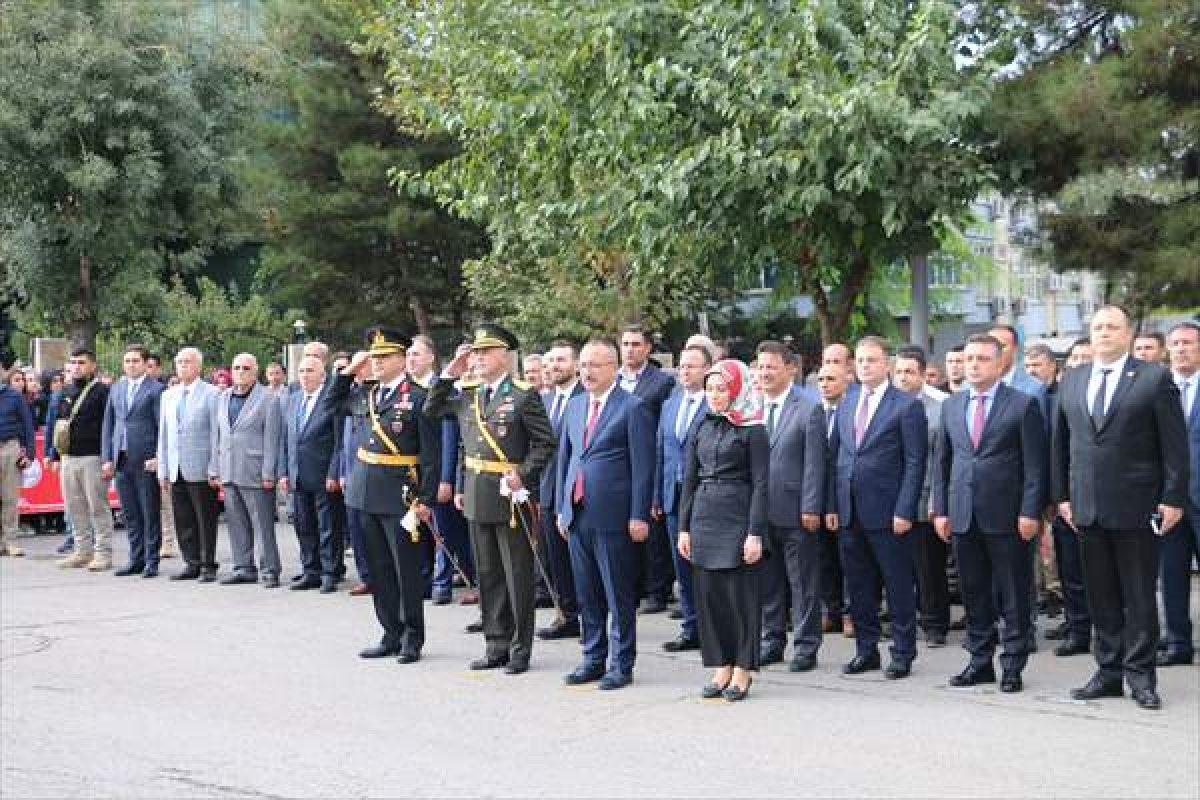 Siirt'te HDP'den İstiklal Marşı'na protesto