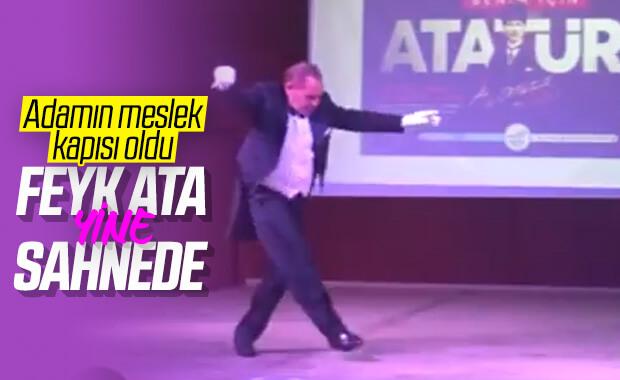 Göksel Kaya'dan Atatürk zeybeği