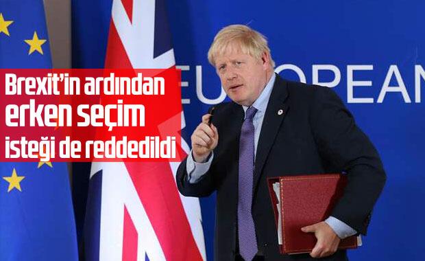 İngiltere'de erken seçim reddedildi