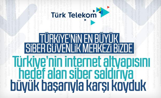 Pazar günü Türkiye'ye siber saldırı yapıldı