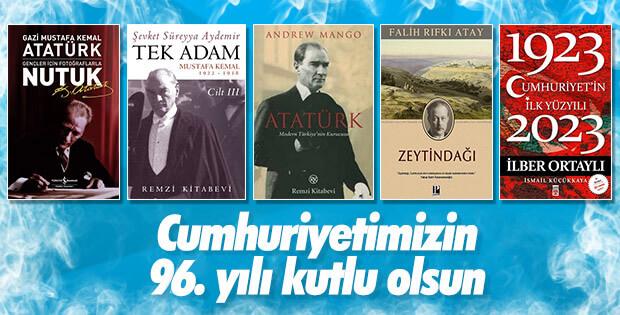Cumhuriyet'i konu alan etkileyici kitaplar