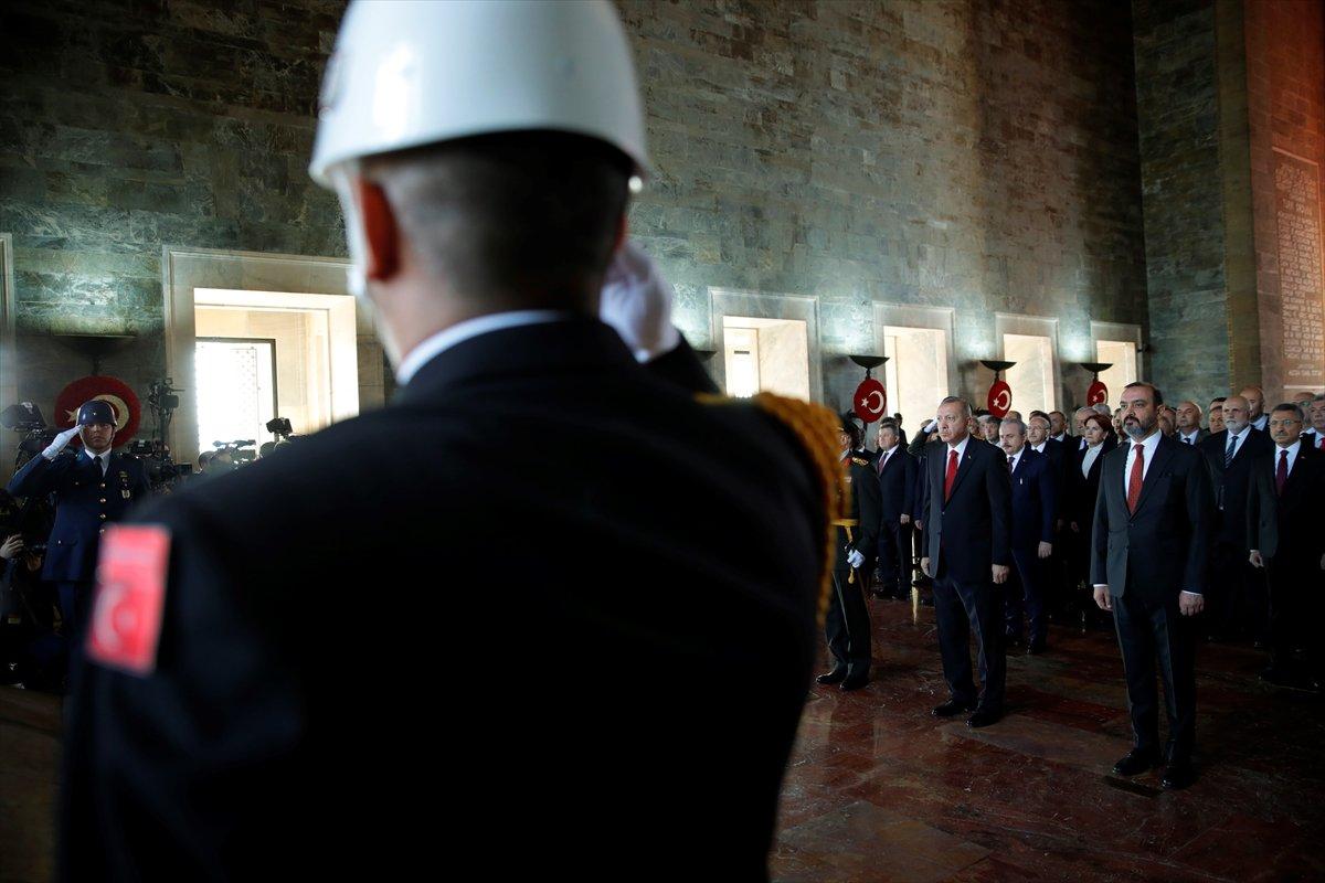 29 Ekim'de devlet erkânı Anıtkabir'de
