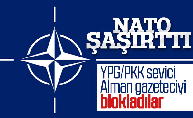 NATO, Türkiye karşıtı gazeteciyi Twitter'dan blokladı