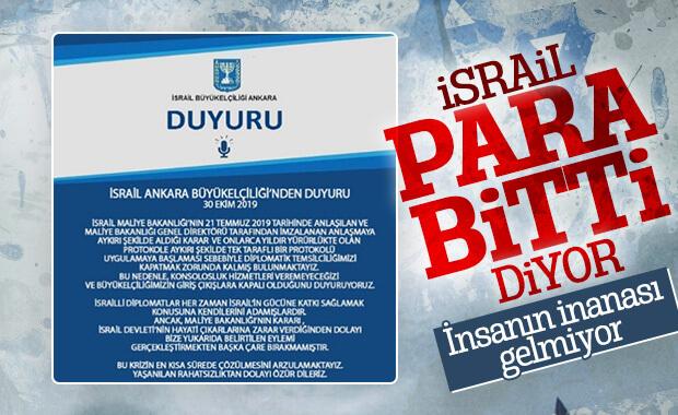 İsrail elçilikleri grev nedeniyle kapatıldı