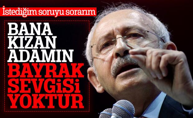 Kılıçdaroğlu kendisine kızanlara cevap verdi