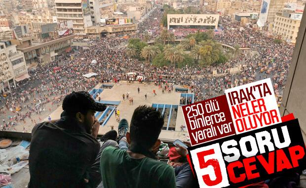 Protestoların devam ettiği Irak'ı bekleyen senaryolar