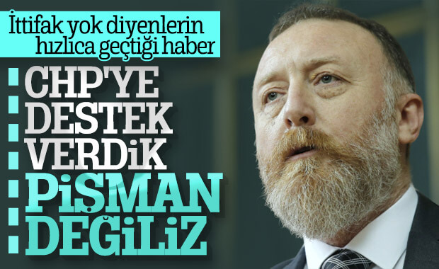 HDP: CHP'ye destekten pişman değiliz